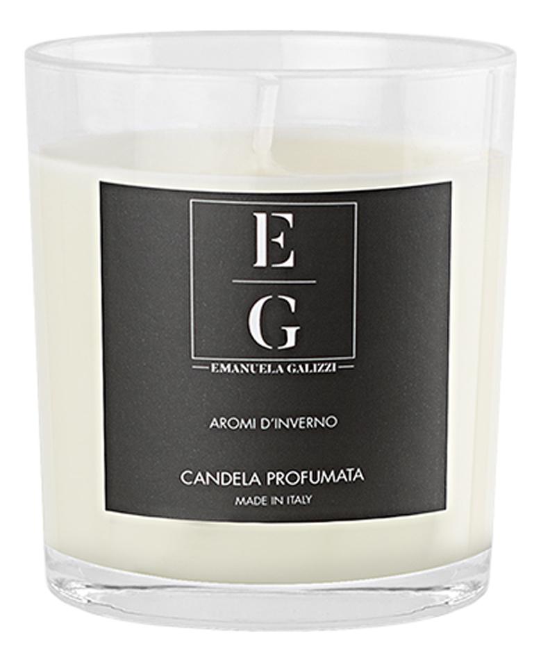 Купить Ароматическая свеча Зимний аромат: ароматическая свеча 160г (в стеклянном стакане), Emanuela Galizzi