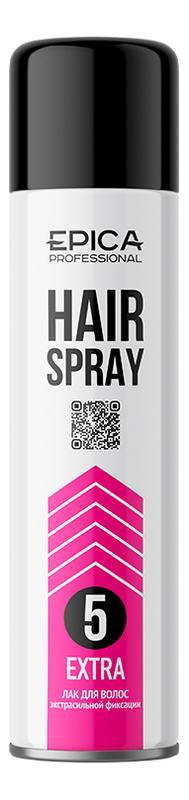 Купить Лак для волос экстрасильной фиксации Extrastrong Hair Spray 500мл, Epica Professional