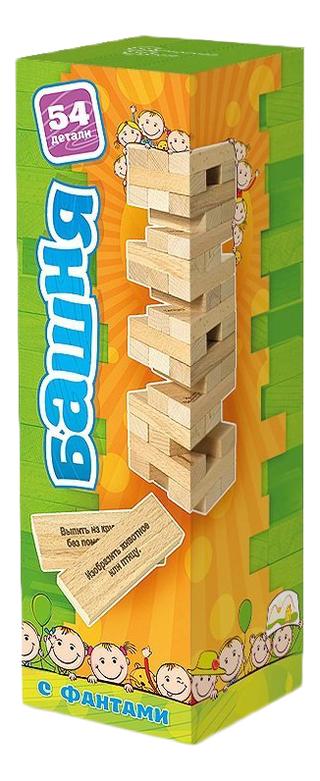 Нескучные игры Настольная игра Башня с фантами для детей 7746