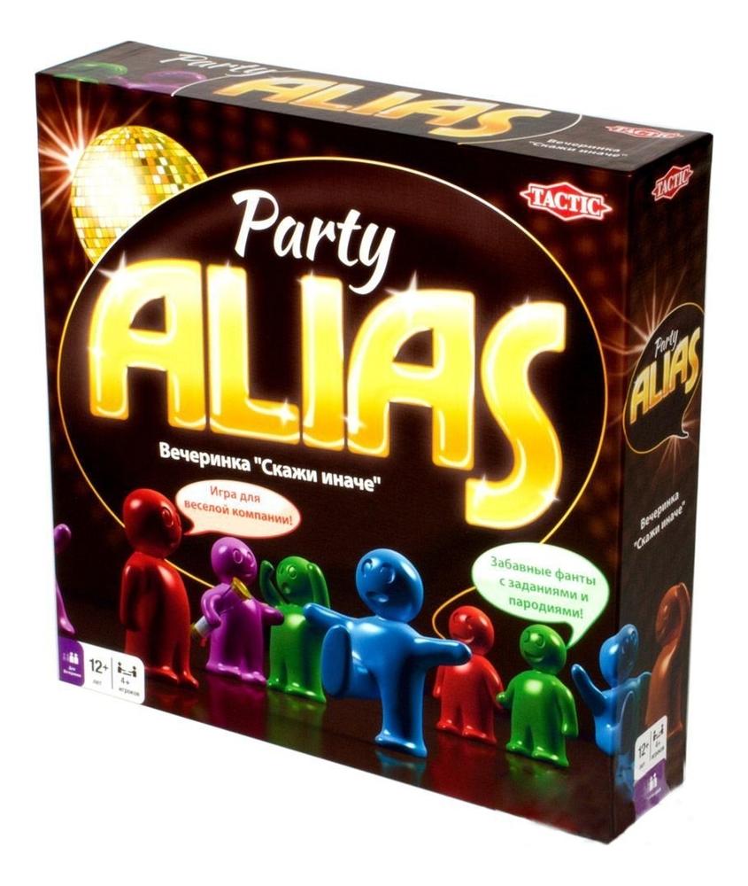 цена TACTIC Настольная игра Вечеринка скажи иначе 2 Alias Party 53365 онлайн в 2017 году
