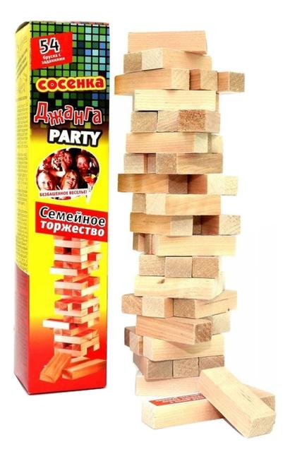 Задира Настольная игра Джанга Семейное торжество Party Д2923