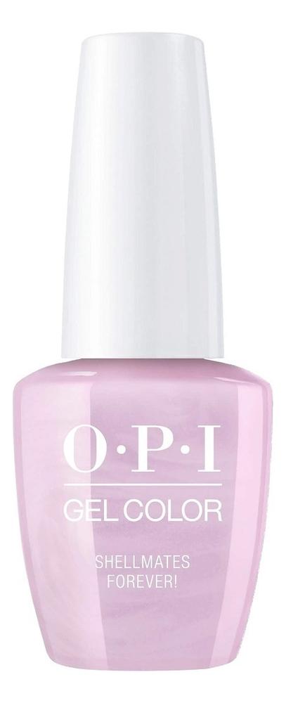 Фото - Гель-лак для ногтей Gel Color 15мл: Shellmates Forever! закрепляющее покрытие гель для ногтей супер блеск super gloss gel 15мл
