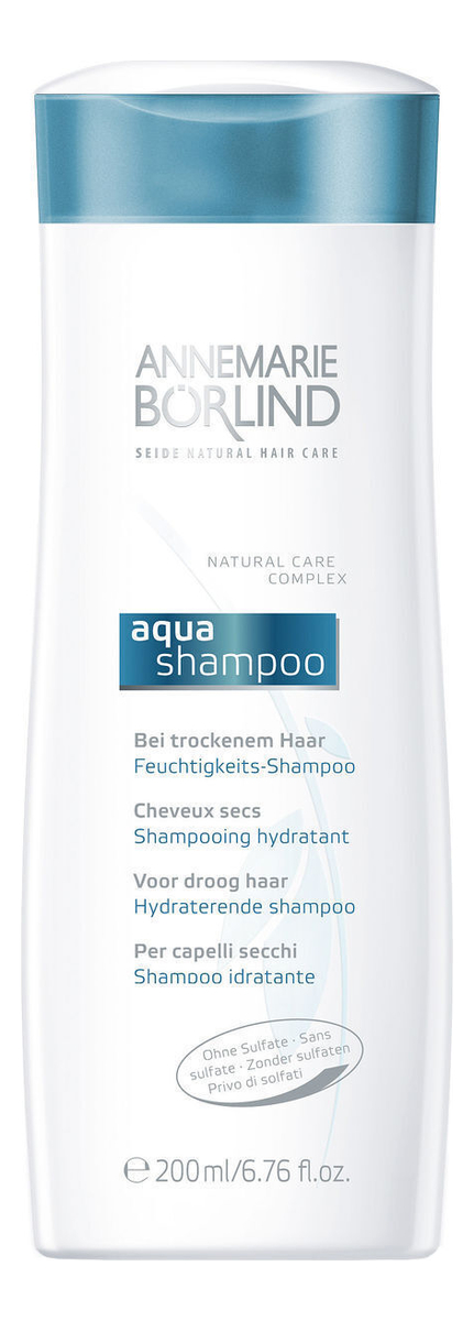 Купить Увлажняющий шампунь для сухих волос Aqua Shampoo 200мл, Annemarie Borlind
