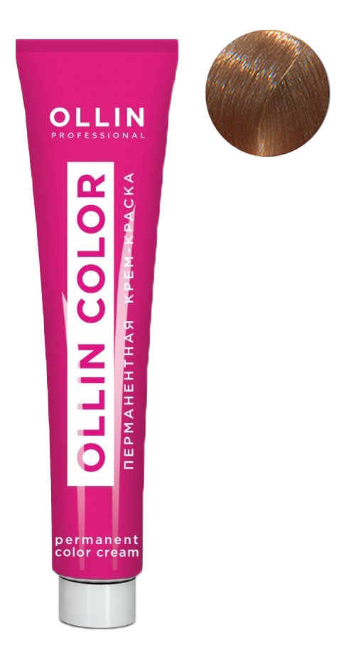 Купить Перманентная крем-краска для волос с экстрактом подсолнечника и шелка Ollin Color 100мл: 9/5 Блондин махагоновый, OLLIN Professional