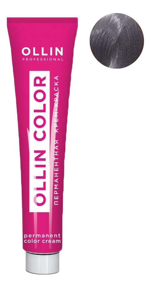 цена Перманентная крем-краска для волос с экстрактом подсолнечника и шелка Ollin Color 100мл: 9/81 Блондин жемчужно-пепельный онлайн в 2017 году