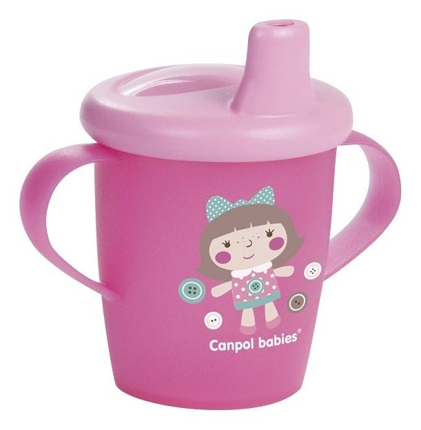 Чашка-непроливайка Toys Cup 9+ 250мл: Розовая