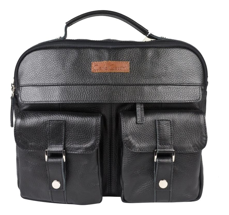 Купить Мужская сумка Teolo Black 5059-01, Carlo Gattini
