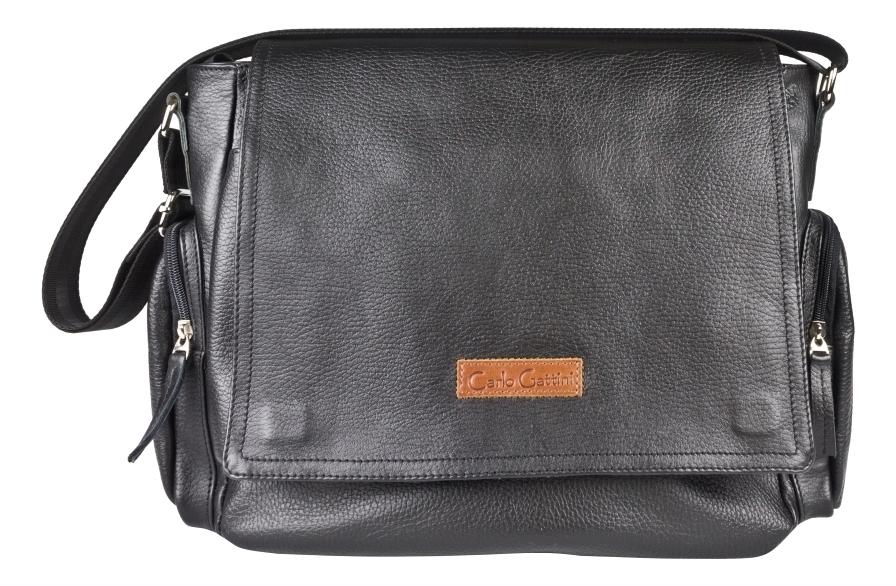 Купить Мужская сумка Toara Black 5058-01, Carlo Gattini