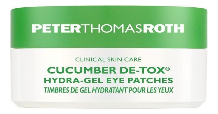 Купить Гидрогелевые патчи для области вокруг глаз Cucumber De-Tox Hydra-Gel Eye Patches 60шт, Peter Thomas Roth