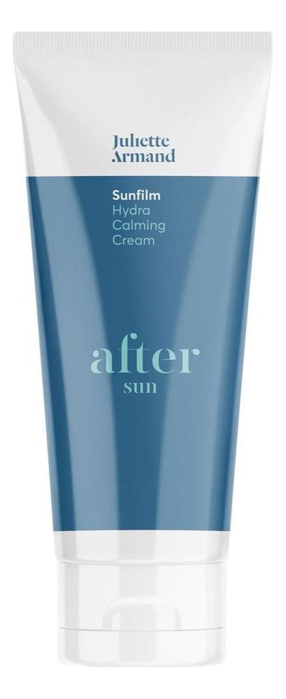 Успокаивающий крем после загара для лица и тела Sunfilm After Sun Hydra Calming Cream 200мл