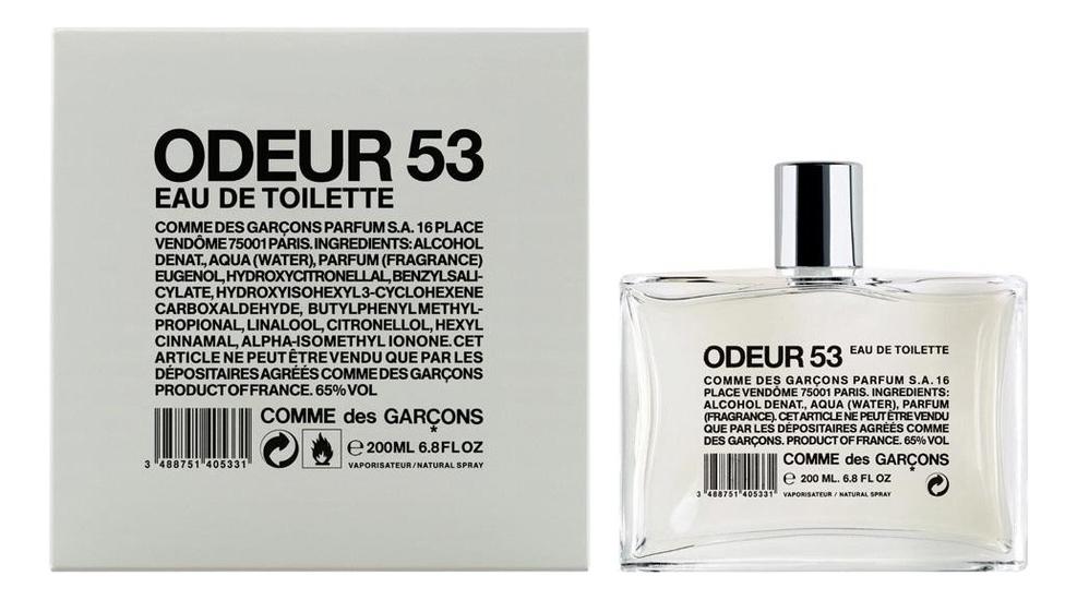 Купить Odeur 53: туалетная вода 200мл, Comme des Garcons