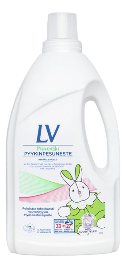 Концентрированное жидкое средство для стирки детской одежды Pikkuvaki Pyykinpesuneste: Средство 1500мл lv концентрированное жидкое средство для стирки 1 5 л