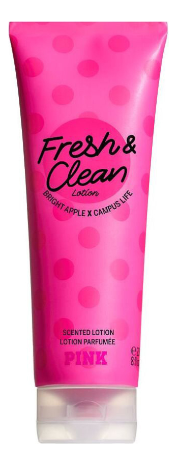 Парфюмерный лосьон для тела Pink Fresh & Clean Fragrance Lotion: Лосьон 236мл недорого