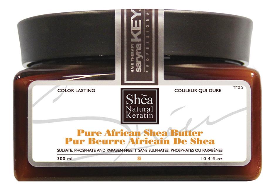 Купить Восстанавливающая маска для волос с Африканским маслом Ши Color Lasting Pure African Shea Butter: Маска 300мл, Восстанавливающая маска для волос с африканским маслом ши Color Lasting Pure African Shea Butter, Saryna Key