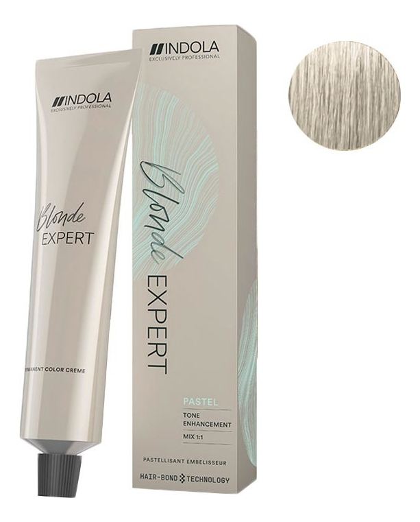 Купить Перманентный крем-краситель для волос Profession Blonde Expert Pastel Toner 60мл: No P.2, Indola