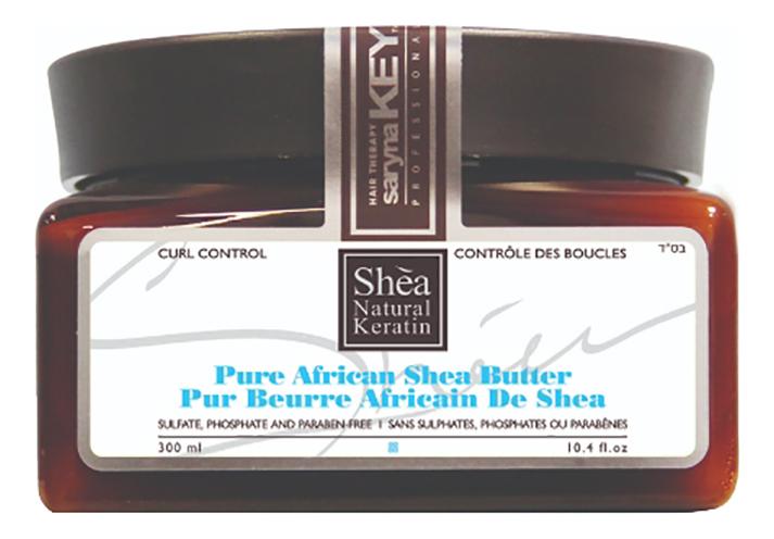 Фото - Восстанавливающая маска для волос с Африканским маслом Ши Curl Control Pure African Shea Butter: Маска 300мл маска для волос с маслом карите numero nourishing mask with shea butter маска 300мл