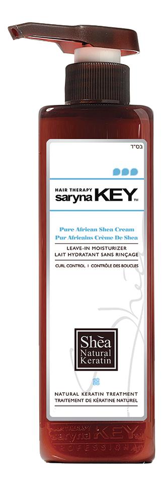 Увлажняющий крем для волос с африканским маслом ши Curl Control Pure African Shea Cream: Крем 500мл chi luxury black seed oil curl defining cream gel