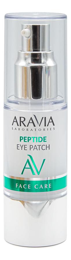 Жидкие патчи для области вокруг глаз с пептидами Laboratories Peptide Eye Patch 30мл гидрогелевые патчи для области вокруг глаз с пептидами и рубиновой пудрой peptide