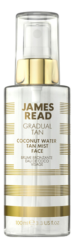 Фото - Кокосовый спрей для лица Освежающее сияние Gradual Tan Coconut Water Tan Mist Face 100мл масло для автозагара james read self tan coconut dry tan body 100 мл