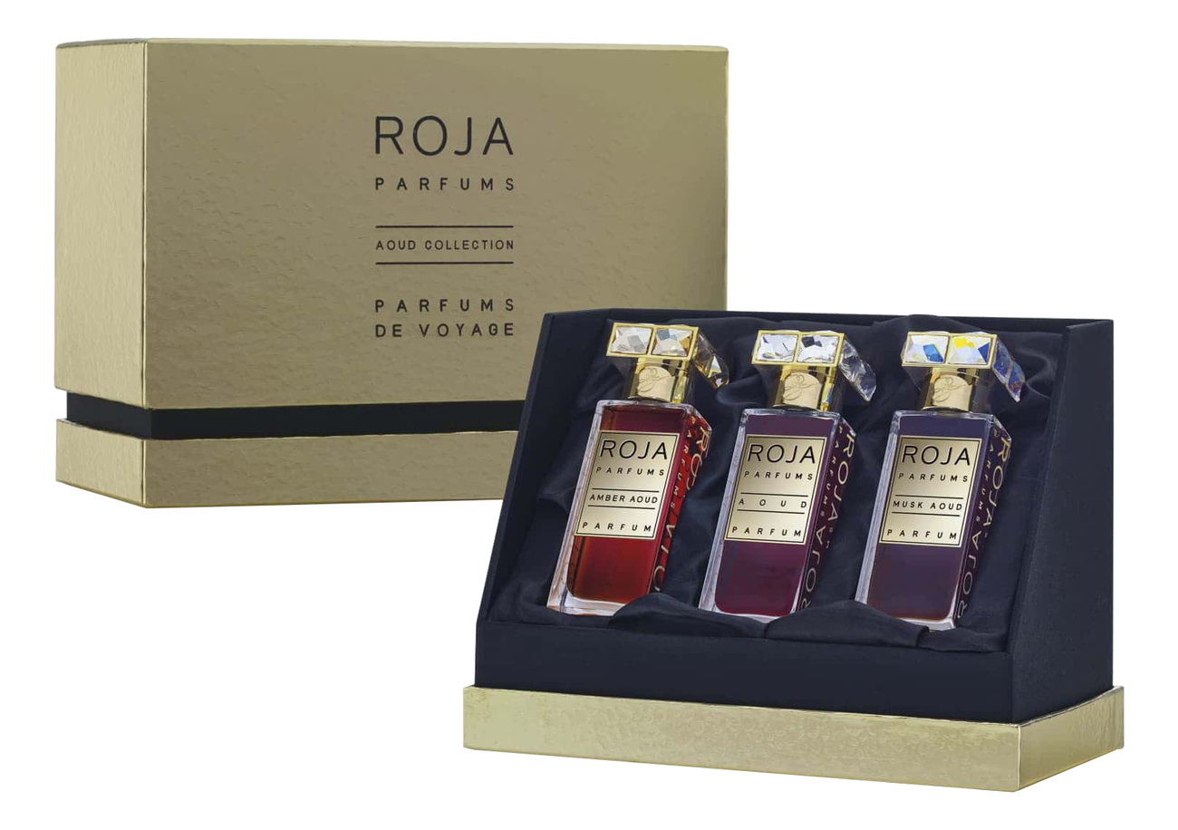 Roja Dove Aoud Collections Parfum De Voyage: духи 3*30мл (Amber Aoud + Aoud + Musk Aoud) roja dove aoud crystal духи 30мл
