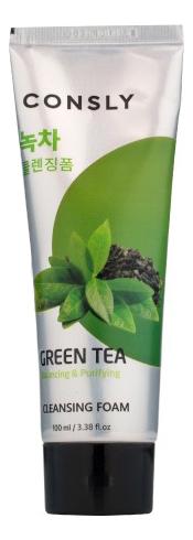 Пенка для умывания с экстрактом зеленого чая Green Tea Cleansing Foam 100мл пенка для умывания с экстрактом зеленого чая green tea ph clear foam cleanser 150мл