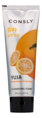 Витаминизирующая пенка для умывания с экстрактом юдзу Yuja Cleansing Foam 100мл недорого