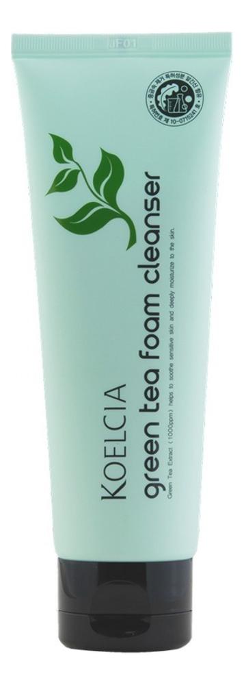 Очищающая пенка с экстрактом зеленого чая Green Tea Foam Cleanser 120мл пенка для умывания с экстрактом зеленого чая green tea ph clear foam cleanser 150мл