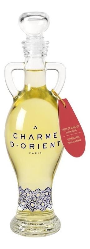 Массажное масло для тела с ароматом жасмина Huile De Massage Parfum Jasmin: Масло 200мл