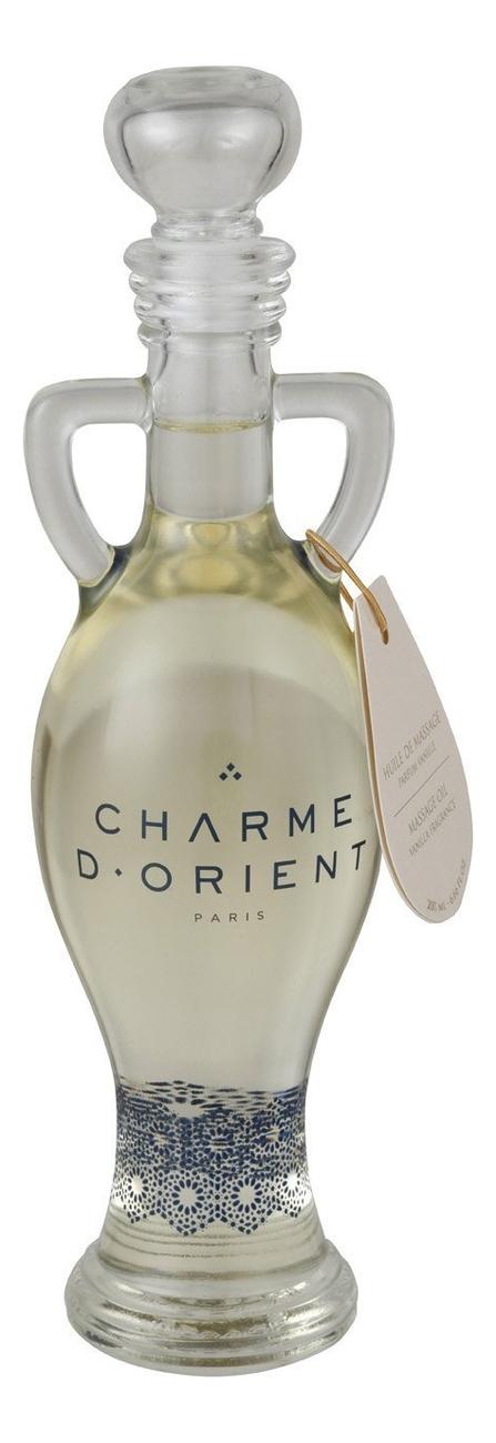 Массажное масло для тела с ароматом ванили Huile De Massage Parfum Vanilla: Масло 200мл недорого