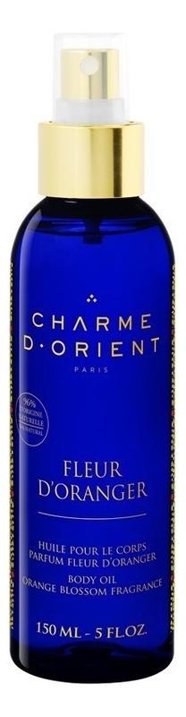 Массажное масло для тела с ароматом цветков апельсинового дерева Huile De Massage Parfum Fleur D'Orang: Масло 150мл