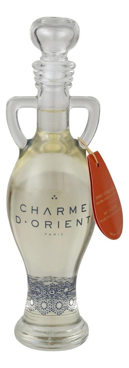 Массажное масло для тела с ароматом цветков апельсинового дерева Huile De Massage Parfum Fleur D'Orang: Масло 200мл