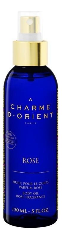 Массажное масло для тела с ароматом розы Huile De Massage Parfum Rose: Масло 150мл недорого