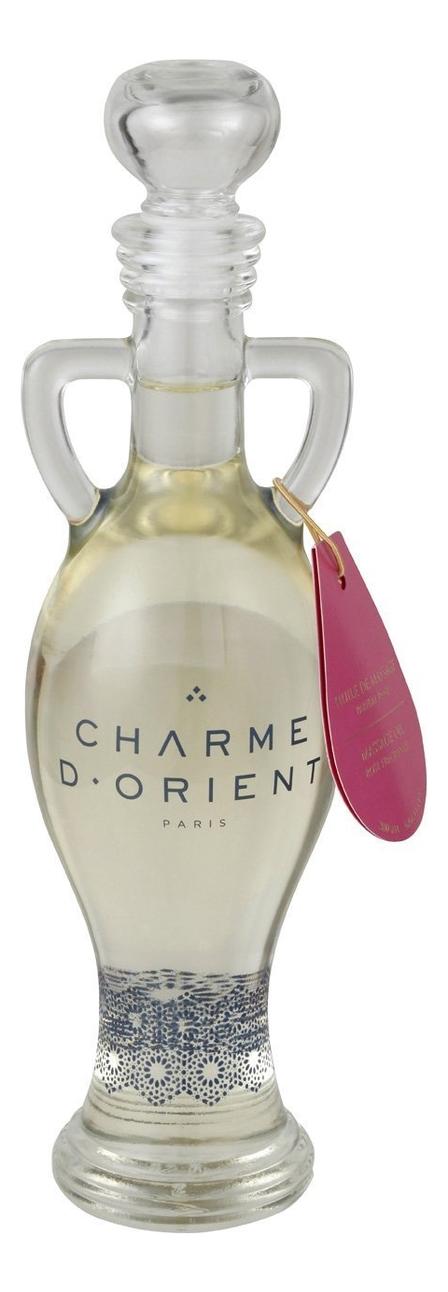 Массажное масло для тела с ароматом розы Huile De Massage Parfum Rose: Масло 200мл недорого