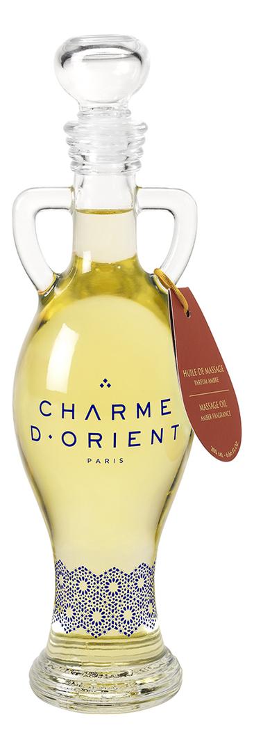 Массажное масло для тела с янтарным ароматом Huile De Massage Parfum Ambre: Масло 200мл недорого