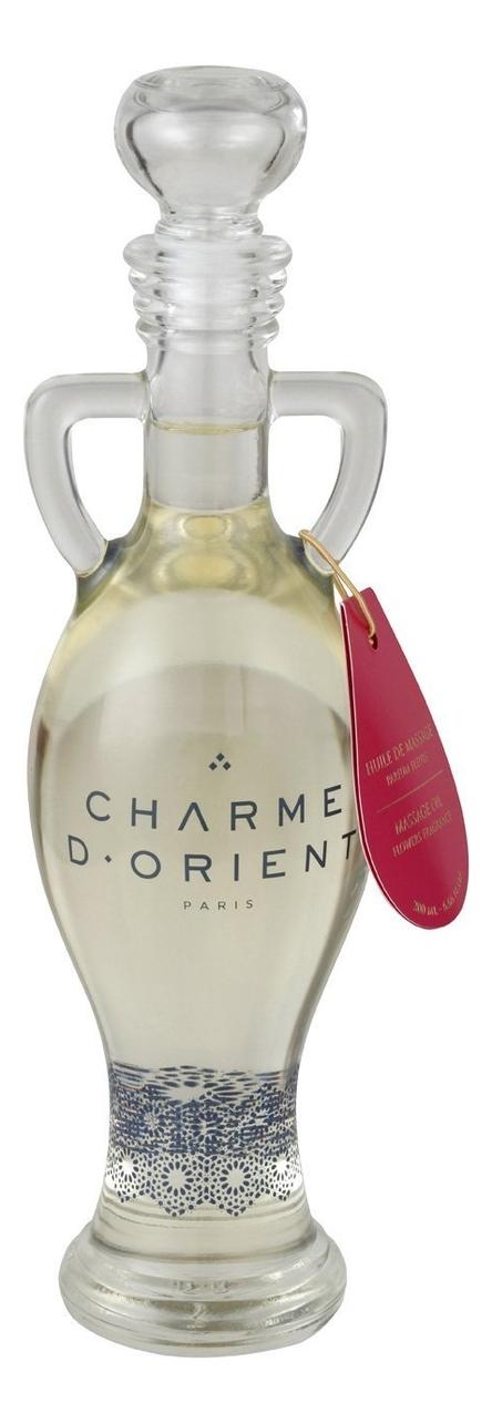 Массажное масло для тела с цветочным ароматом Huile De Massage Parfum Fleurs: Масло 200мл недорого