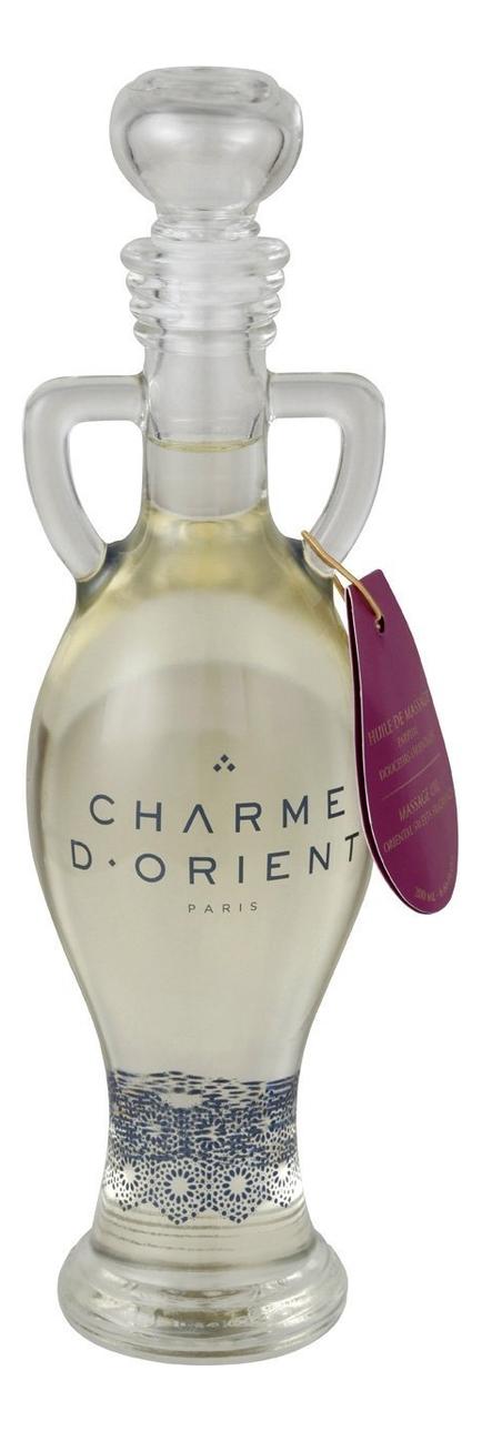 Массажное масло для тела с ароматом Восточные сладости Huile De Massage Parfum Douceurs Orientales: Масло 200мл восточные сладости