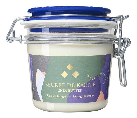 Масло для тела с ароматом цветков апельсинового дерева Beurre De Karite A L'Huile D'Argan Parfum Fleur D'Oranger 200мл: Масло 200г