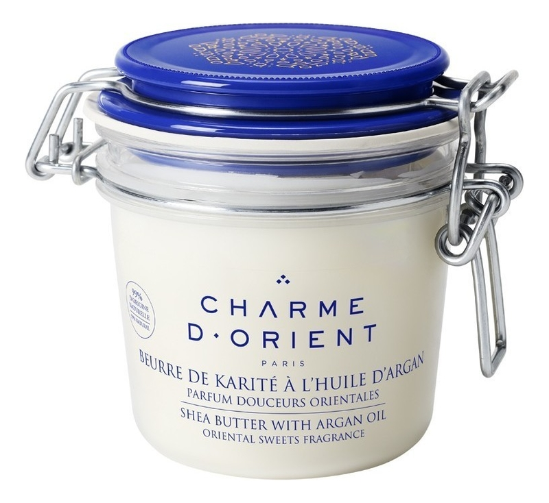 Масло для тела с ароматом Восточные сладости Beurre De Karite A L'Huile D'Argan Parfum Douceurs Orientales 200мл: Масло 200г восточные сладости