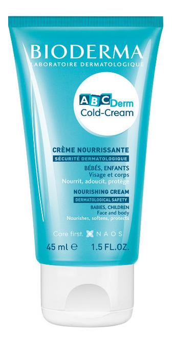 Крем для лица и тела ABCDerm Cold-Cream Nourishing Cream 45мл bioderma atoderm ultra nourishing cream 500ml