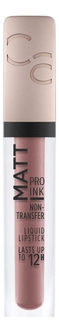 Жидкая матовая помада для губ Matt Pro Ink Non-Transfer Liquid Lipstick 5мл: 010 Trust In Me catrice матовая губная помада ultimate matt lipstick 010бледно розовый 28 г