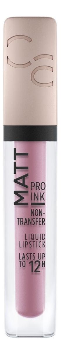 Фото - Жидкая матовая помада для губ Matt Pro Ink Non-Transfer Liquid Lipstick 5мл: 070 I Am Unique матовая помада для губ demi matt lipstick 4г 070 from rose with love