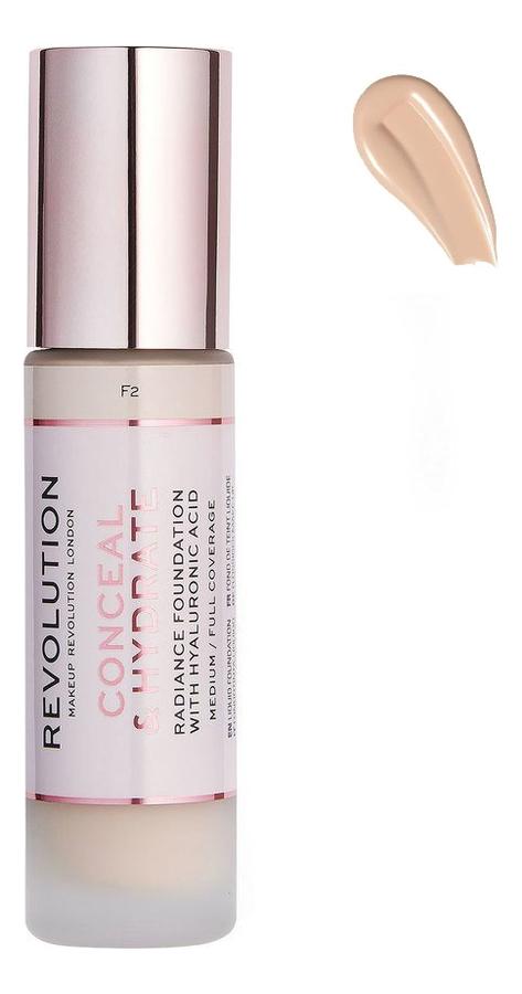 Купить Тональная основа для лица Conceal & Hydrate: F2, Тональная основа для лица Conceal & Hydrate, Makeup Revolution