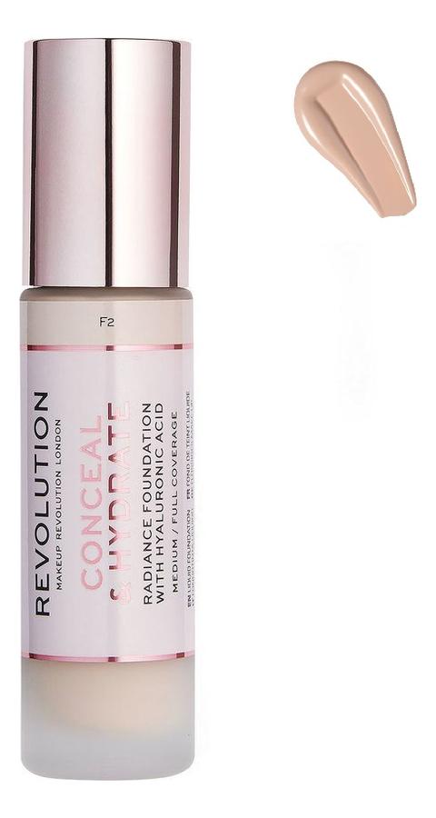 Купить Тональная основа для лица Conceal & Hydrate: F4, Тональная основа для лица Conceal & Hydrate, Makeup Revolution