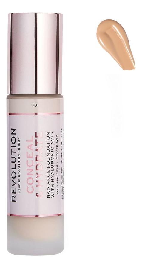 Купить Тональная основа для лица Conceal & Hydrate: F7, Тональная основа для лица Conceal & Hydrate, Makeup Revolution