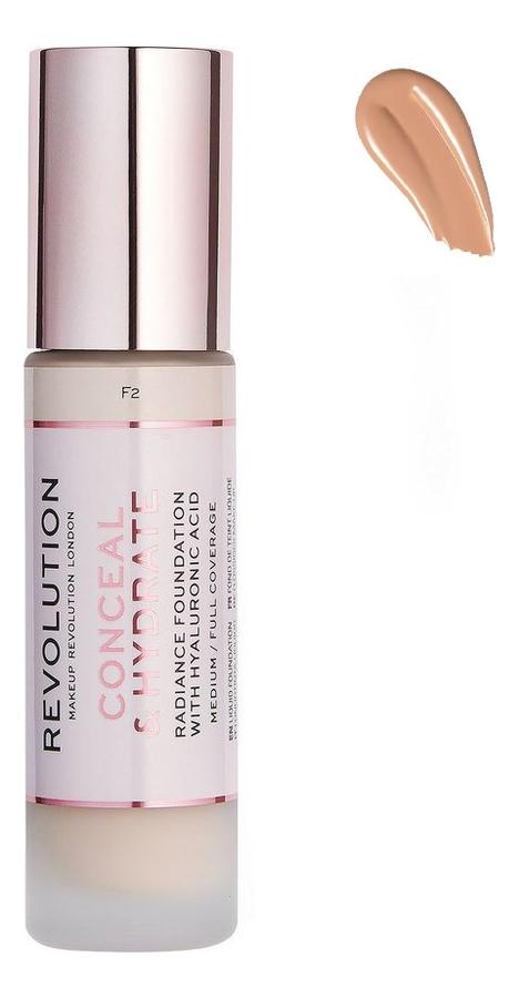 Купить Тональная основа для лица Conceal & Hydrate: F8, Тональная основа для лица Conceal & Hydrate, Makeup Revolution