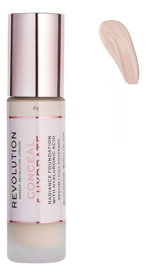Купить Тональная основа для лица Conceal & Hydrate: F0.1, Тональная основа для лица Conceal & Hydrate, Makeup Revolution