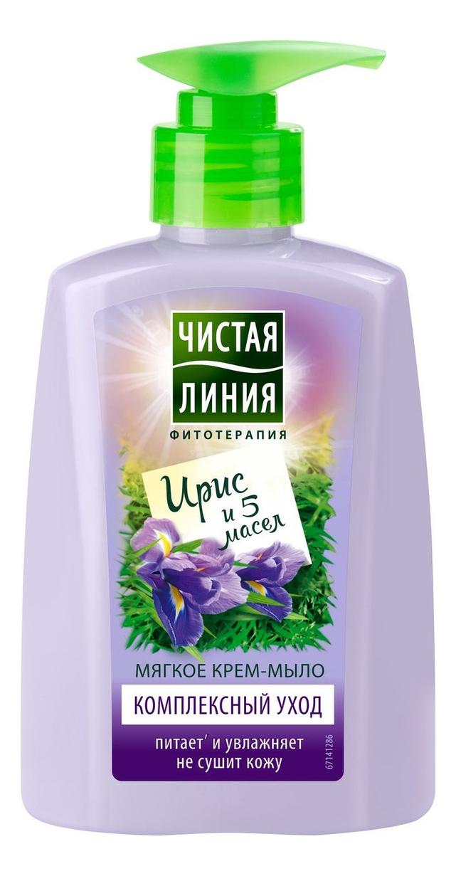 Купить Жидкое крем-мыло Комплексный уход 250мл, Чистая линия