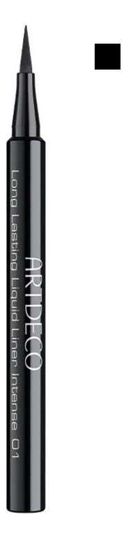 Подводка для век Long Lasting Liquid Liner Intense 0,6мл: 01 Black