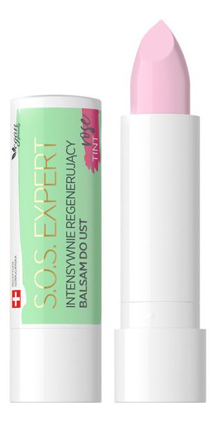 Купить Интенсивно регенерирующий бальзам для губ Lip Therapy Professional SOS Expert: Rose Tint, Eveline