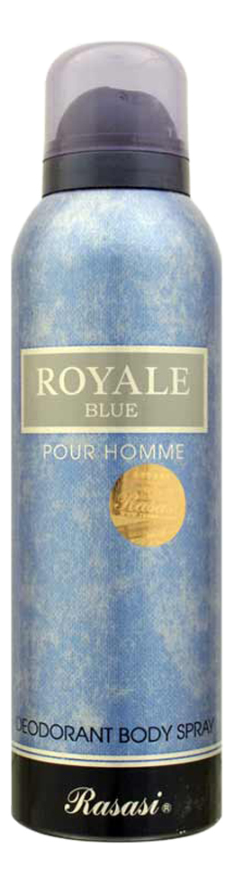 Купить Rasasi Royale Blue Homme: дезодорант 200мл